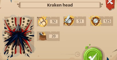 Krakken head