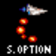 Snake Option Gradius 3 Arcade