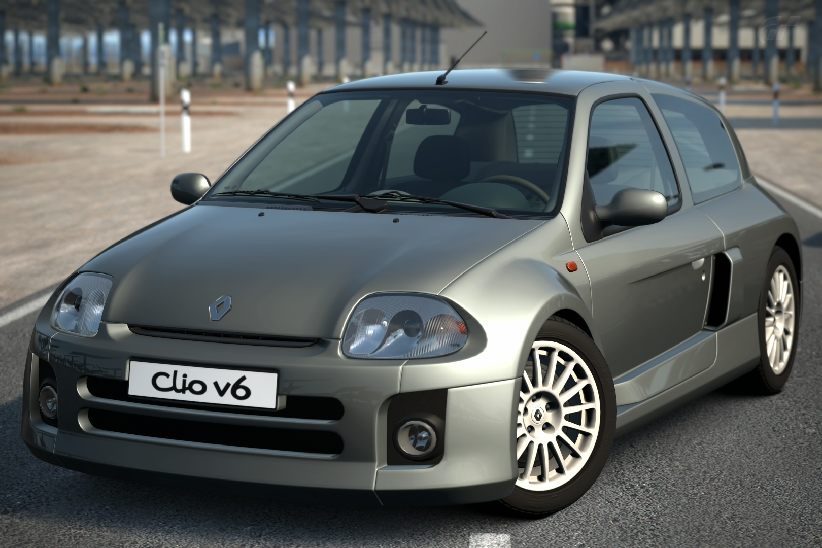 clio renault sport v6 24v 39 00 gran turismo wiki fandom powered by wikia. Black Bedroom Furniture Sets. Home Design Ideas