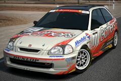 Honda Gathers Drider CIVIC Race Car '98