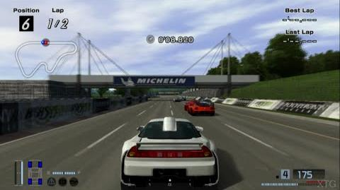 Gran Turismo 4 - Honda NSX-R Prototype LM Road Car HD PS2 Gameplay