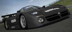 Nissan R390 GT1 Race Car (Black)
