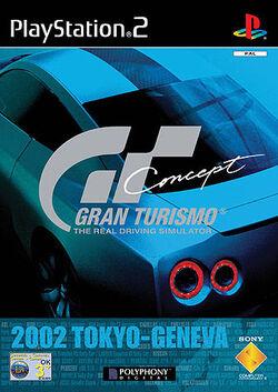 Gran Turismo Concept Cover (2002 Tokyo-Geneva)