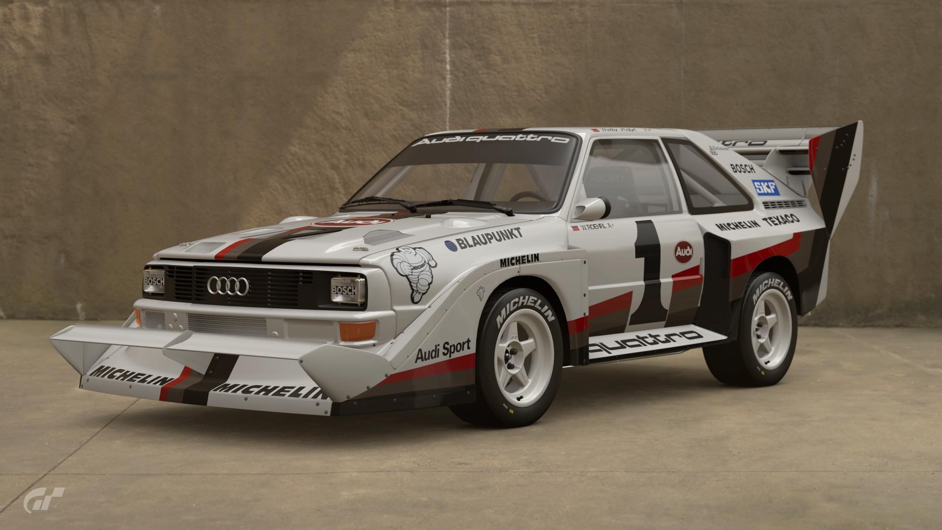 Audi Sport quattro S1 Pikes Peak 87  Gran Turismo Wiki  Fandom