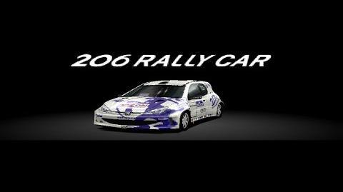 Gran Turismo 2 - Peugeot 206 Rally Car HD Gameplay