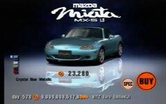Mazda MX-5 Miata 1800 RS (NB, J) '00