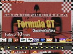 Formula GT Championship
