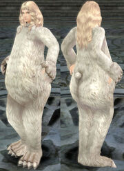 ElementF BearWhite