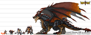Raid Dungeon Monster Size
