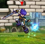 Spell Knight Magic Jump Attack