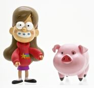 Gravity Falls Mabel and Waddles toys
