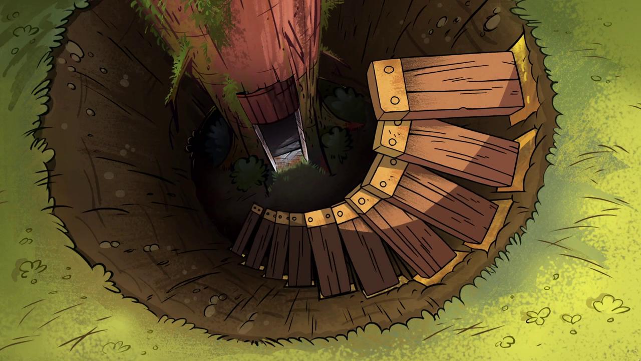 Bunker Gravity Falls Wiki Fandom Powered By Wikia