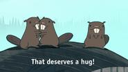S1e2 beavers that deserves a hug