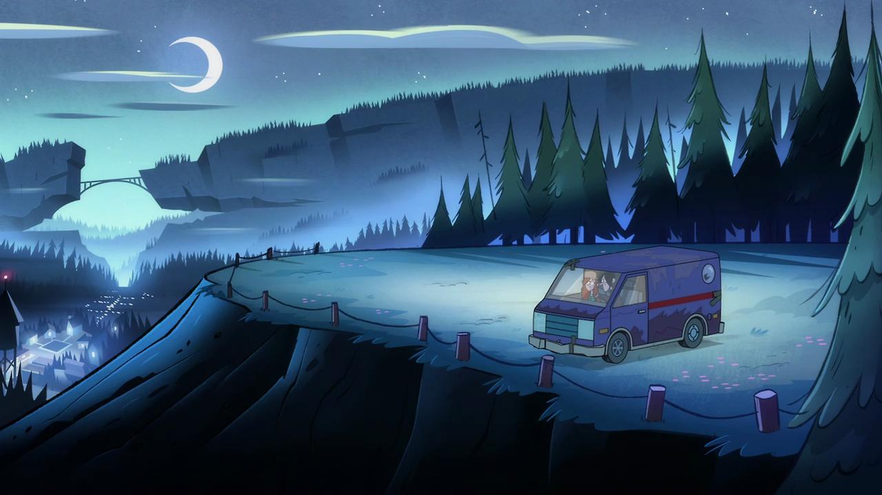 Lookout Point Gravity Falls Wiki Fandom Powered By Wikia