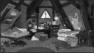 Concept dipper and mabel bedroom