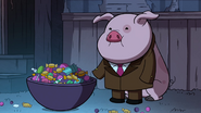 S1e12 Waddles with candy in a bowl
