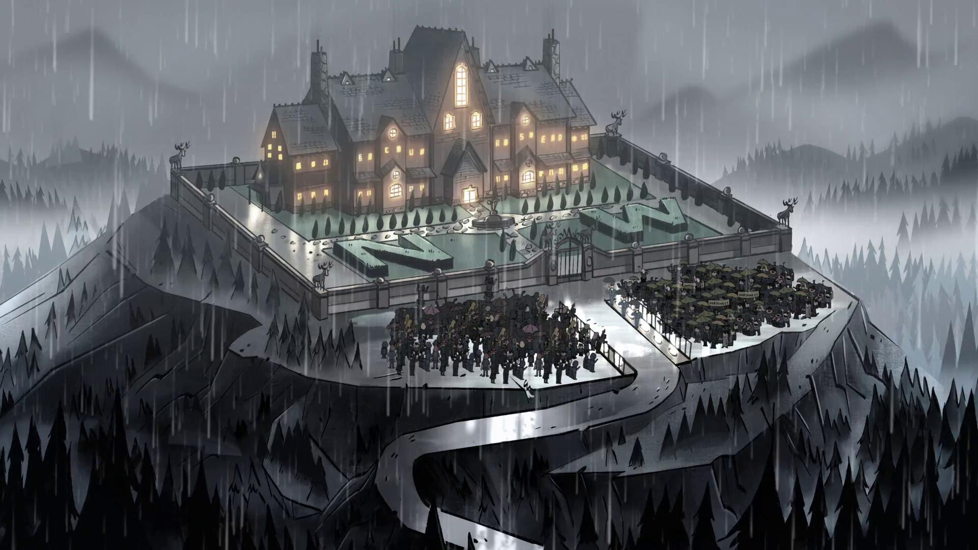 Northwest Manor Gravity Falls Wiki Fandom Powered By Wikia
