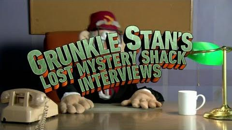 Gravity Falls - Grunkle Stan's Lost Mystery Shack Interviews - Preview