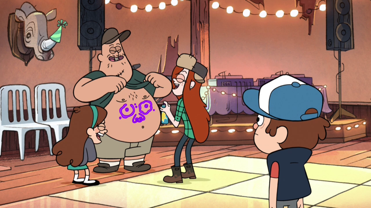 Gravity Falls / sing of Soos / 10 minutes! / To toro to to too ...