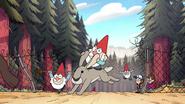 S1e20 gnomes riding rabbit