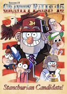 S2e14 season ii gravity falls 15 artwork
