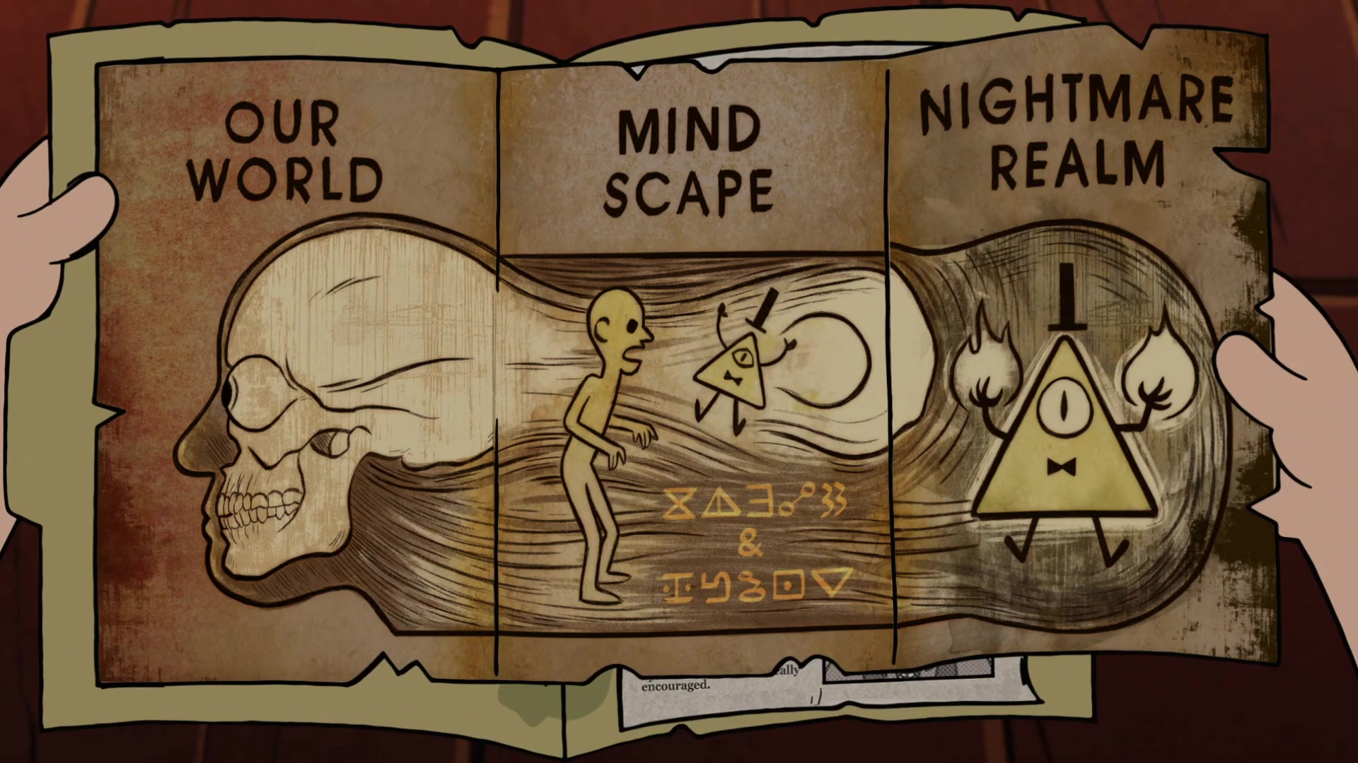 Bill Cipher Gravity Falls Elentori Minecraft Skin