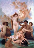 The Birth of Venus by William-Adolphe Bouguereau (1879)
