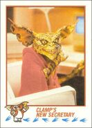 Topps Clamp's New Sectretary