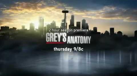 Grey's Anatomy 6x01 NEW Promo