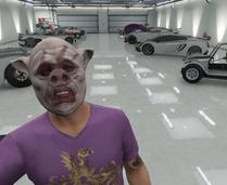 Bloody pig