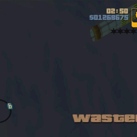 Cut-Out pipe in GTA III