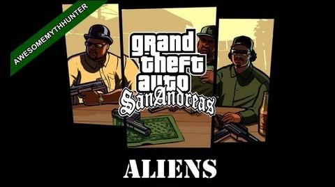 GTA San Andreas Myths & Legends -Aliens HD