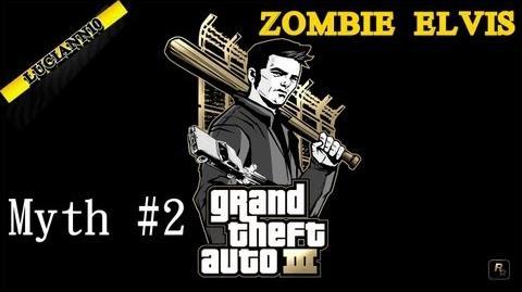 GTA III Myth Hunters Zombie Elvis HD