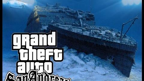 Video - GTA SA TITANIC UNDERWATER | GTA Myths Wiki ...