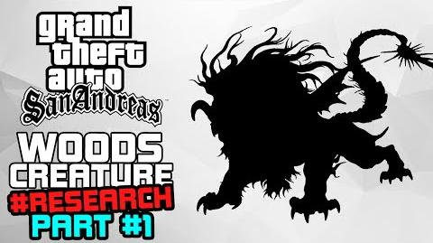 GTA SA M&L The Woods Creature SHADY CREEKS Clear Weather