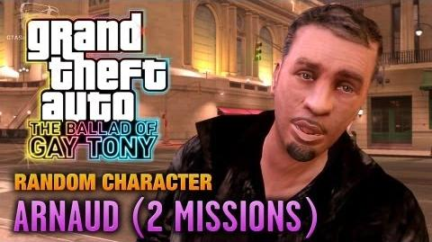 GTA The Ballad of Gay Tony - Random Character 1 - Arnaud 2 Missions (1080p)