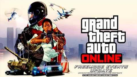 Grand Theft Auto GTA Online Freemode Events Update - Penned In Mode Music Theme