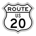 US Route 20 Shield