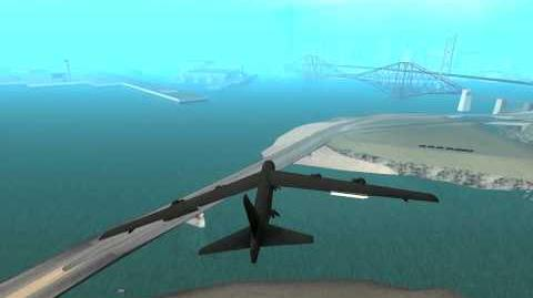 B-52 Stratofortress GTA San Andreas