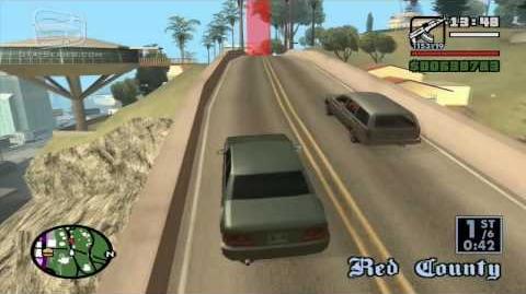 GTA San Andreas - Walkthrough - Street Race - Vinewood (HD)