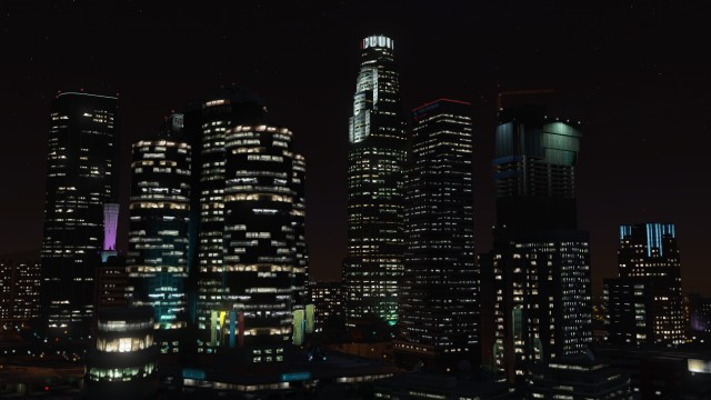File:DowntownLosSantos-Night-GTAV.png
