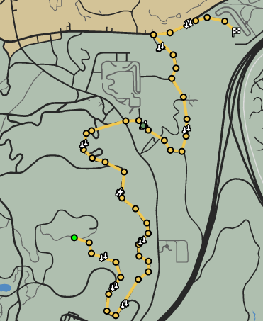 A Sign Of Things To Come GTAO Race Map