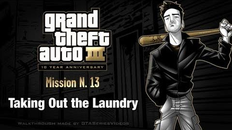 GTA 3 - iPad Walkthrough - Mission 13 - Taking Out the Laundry