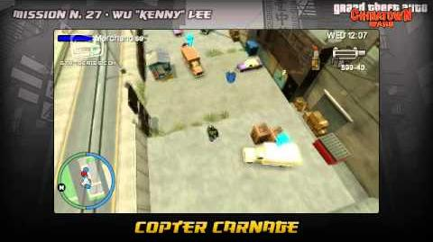 GTA Chinatown Wars - Walkthrough - Mission 27 - Copter Carnage
