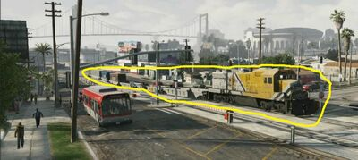 A possible freight from GTA SA