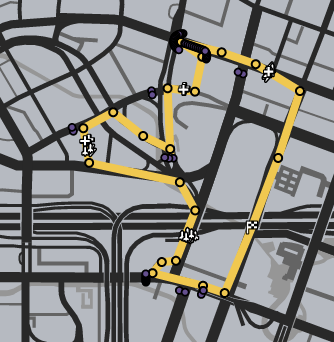 Los Santos GP Inner Loop GTAO Verified Map