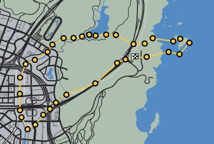 GTAO-Heli Low Fly Zone Race Map