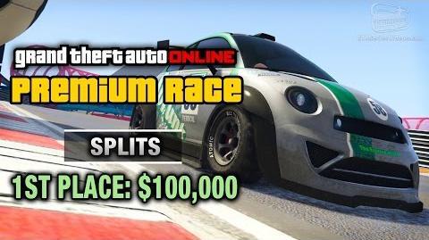 GTA Online - Premium Race 3 - Splits (Cunning Stunts)