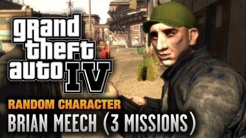 GTA 4 - Random Character 1 - Brian Meech 3 Missions (1080p)