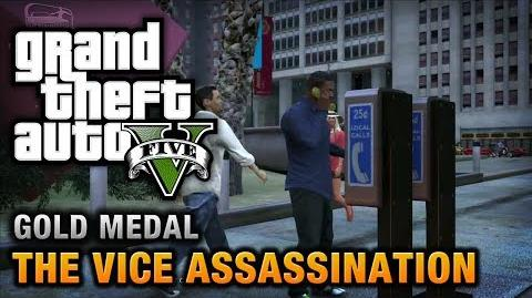 GTA 5 - Mission 42 - The Vice Assassination 100% Gold Medal Walkthrough